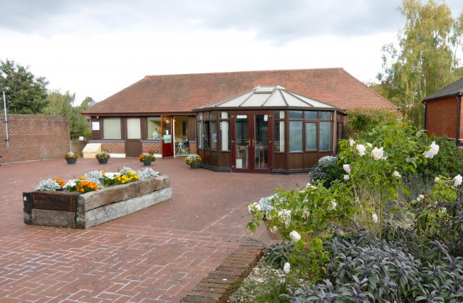 The Conservatory where the Club is held